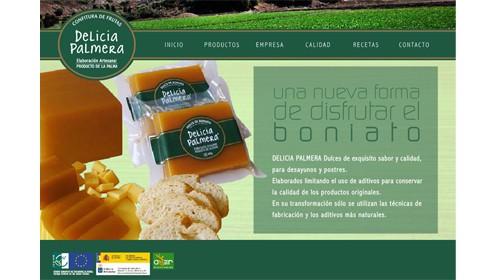 Delicia Palmera, Pionera en la producción del dulce de boniato