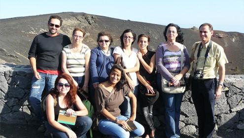 El alumnado del curso de Promoción Turística comienza a conocer los recursos y las oportunidades  del turismo en La Palma