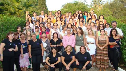 Representantes de ADER LA PALMA participaron en un encuentro de cooperación en Málaga