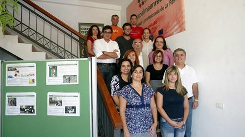 La gran familia de la Asociación de Desarrollo Rural de La Palma celebra su vigésimo aniversario con renovada ilusión ante el futuro. |ACFI PRESS