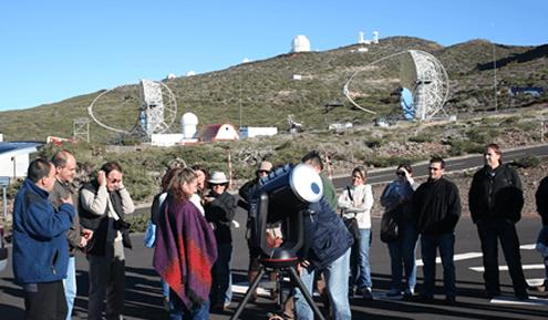 Grupo de Emprendedores de Astroturismo en el ORM