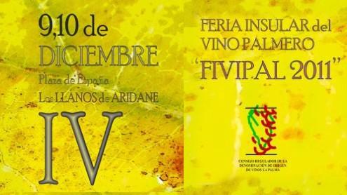 IV Feria Insular del Vino Palmero. FIVIPAL 2011