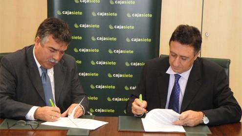 ASPA firma nuevo convenio de colaboración con CajaSiete destinado a la financiación de inversiones Agrarias y Ganaderas