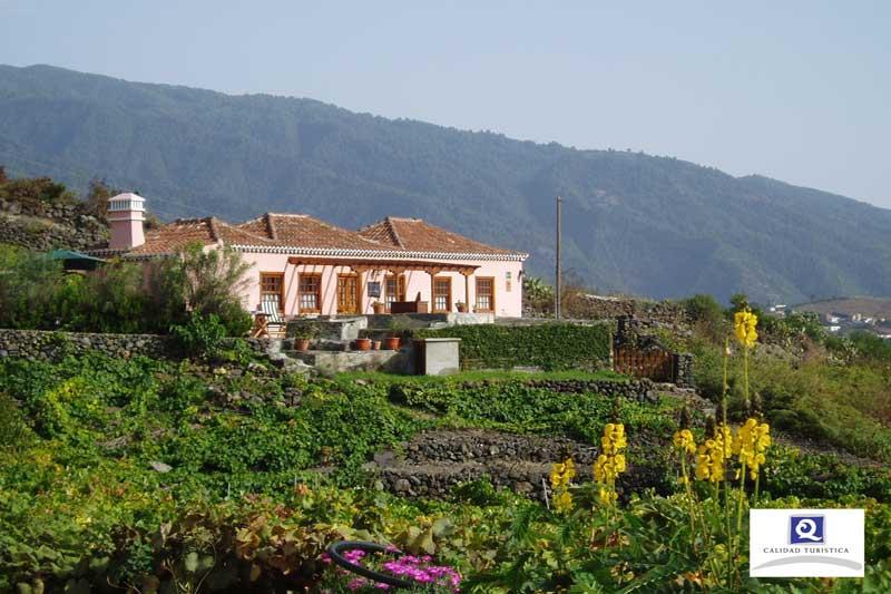 Mapa de casas rurales isla bonita asociaci n para el - Hotel rural en la palma ...