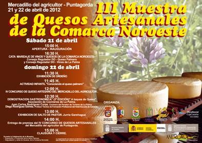 III Muestra de quesos artesanales de la comarca noroeste de La Palma