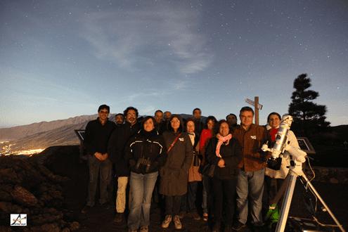 ADER LA PALMA continúa trabajando con las empresas que conforman el producto de astroturismo