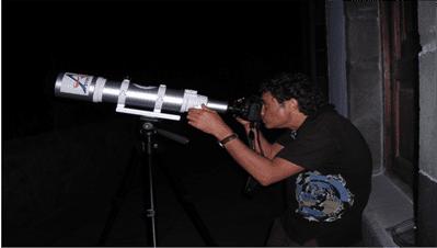 Mapa de Miradores Astronómicos de La Palma