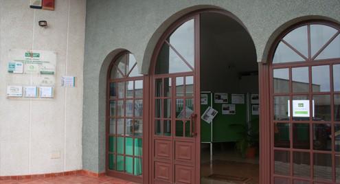 Entradas de las oficinas en Villa de Mazo