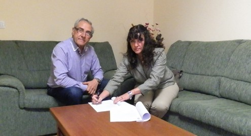 El Ayuntamiento de Tijarafe y el Consejo Regulador de la D.O. del Queso Palmero firman un plan para desarrollar la actividad quesera en el municipio