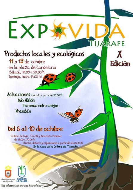 ADER La Palma participará en Expovida