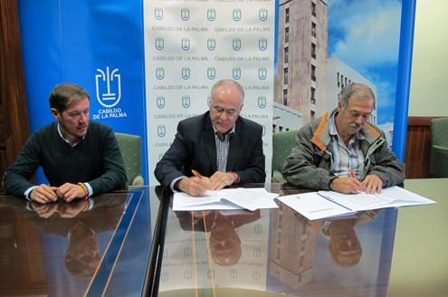 El Cabildo de La Palma apoya tres programas de formación y empleo entre desempleados sin formación profesional
