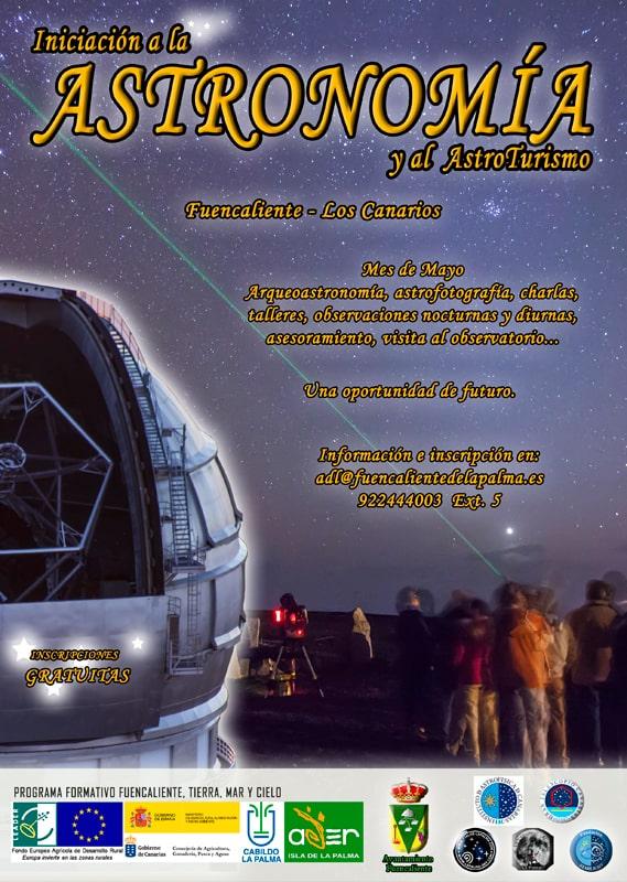 Iniciación a la Astronomía y al Astroturismo
