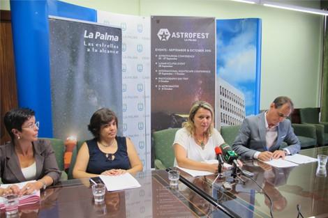 La primera edición de 'Astrofest La Palma' reunirá en la Isla a profesionales de todo el mundo de la astronomía, el astroturismo y la astrofotografía y ofertará actividades para todos los públicos