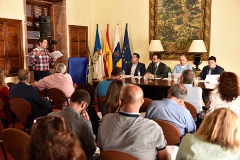 El Cabildo organiza una nueva reunión de la Mesa de Trabajo por el Empleo