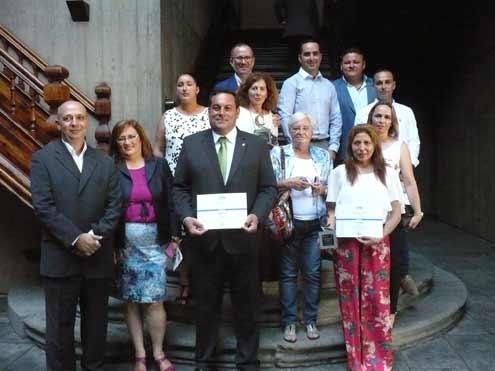 El Cabildo felicita a los productores palmeros galardonados en el certamen Agrocanarias 2016