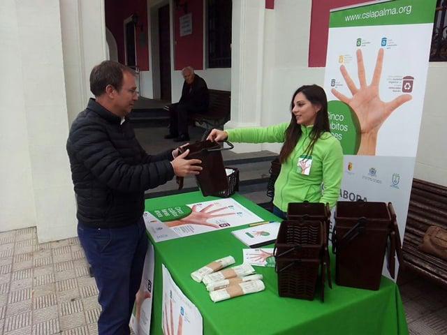 Sergio Rodríguez anima a los pasenses a sumarse a la separación de biorresiduos