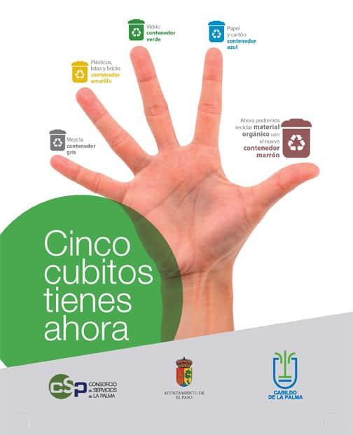 El Consorcio de Servicios de La Palma refuerza la campaña de separación de biorresiduos en El Paso