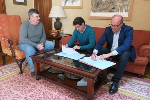 El Cabildo y el Ayuntamiento de Puntallana ultiman la puesta en marcha del primer punto de compostaje comunitario de La Palma