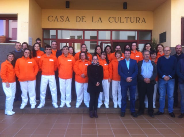 15 Personas reciben formación en Atención Sociosanitaria, en Puntallana, a la vez que prestarán servicios en diferentes centros