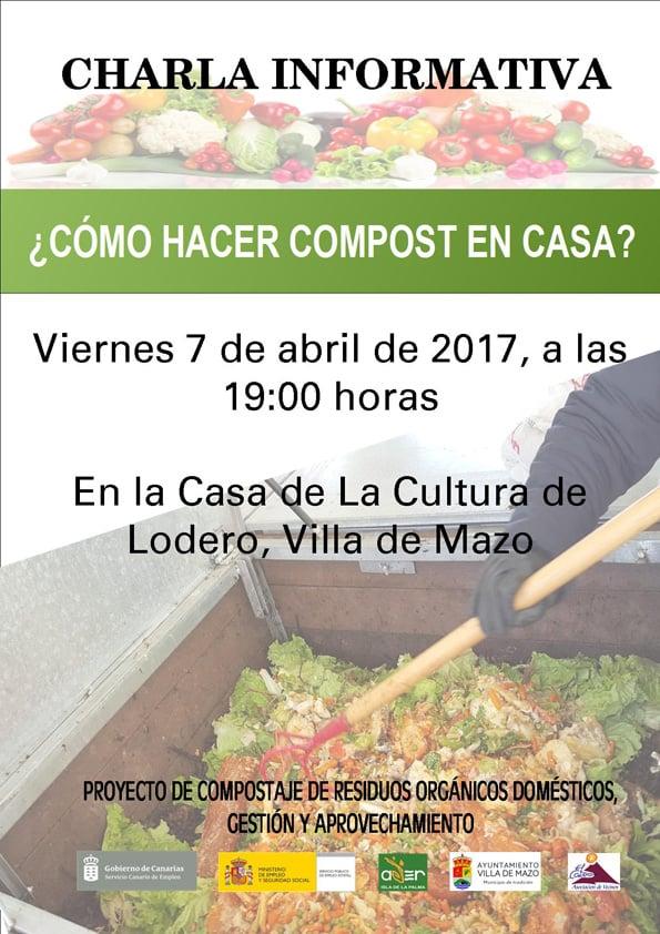 ¿Cómo hacer compost en casa? | 7 de abril en Villa de Mazo