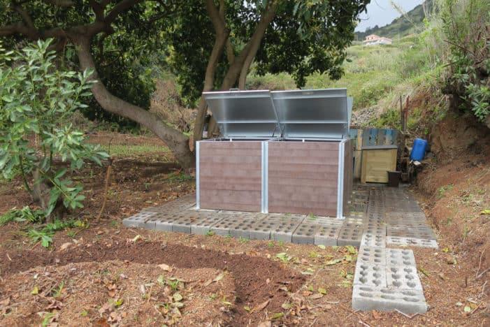 El Cabildo de La Palma inaugura el primer punto de compostaje comunitario de Canarias en Puntallana