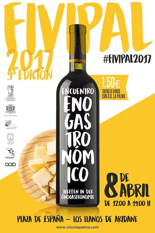 Abril, mes del Vino y de la Gastronomía de La Palma