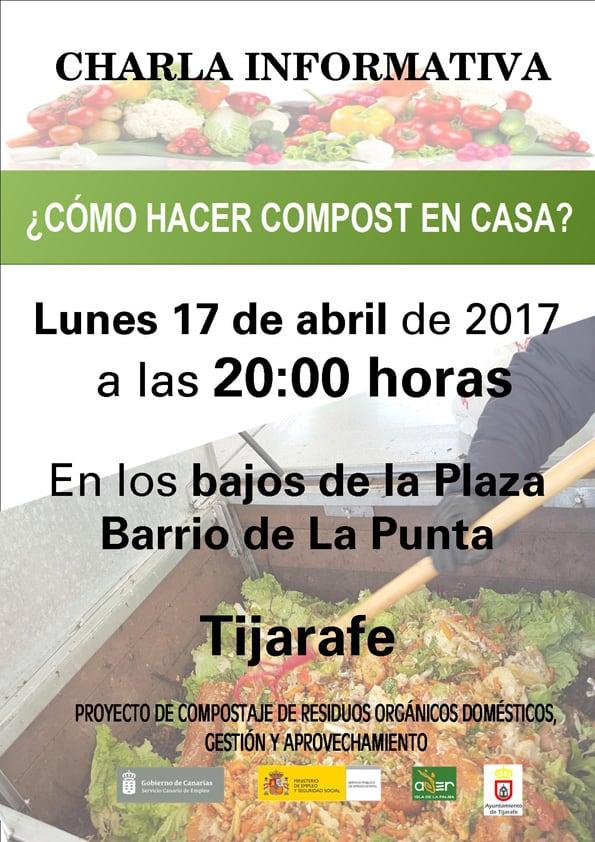 ¿Cómo hacer compost en casa? | 17 de abril en Tijarafe