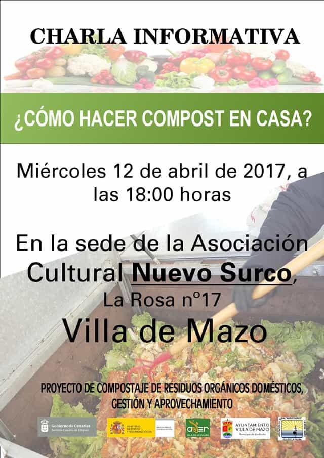 ¿Cómo hacer compost en casa? | 12 de abril en Villa de Mazo