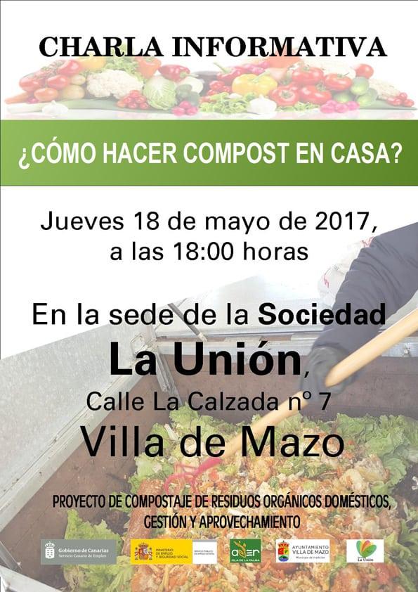 Charlas sobre compostaje doméstico Sociedad La Unión