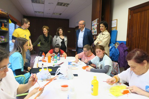 El Cabildo y la Asociación de Niños Especiales de La Palma (NEP) cooperan en la gestión de 15 plazas de Centro de Día