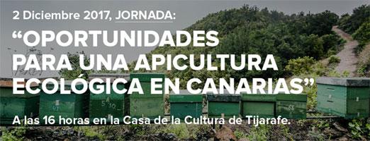 """Jornadas """"Oportunidades para una Apicultura Ecológica en Canarias"""""""