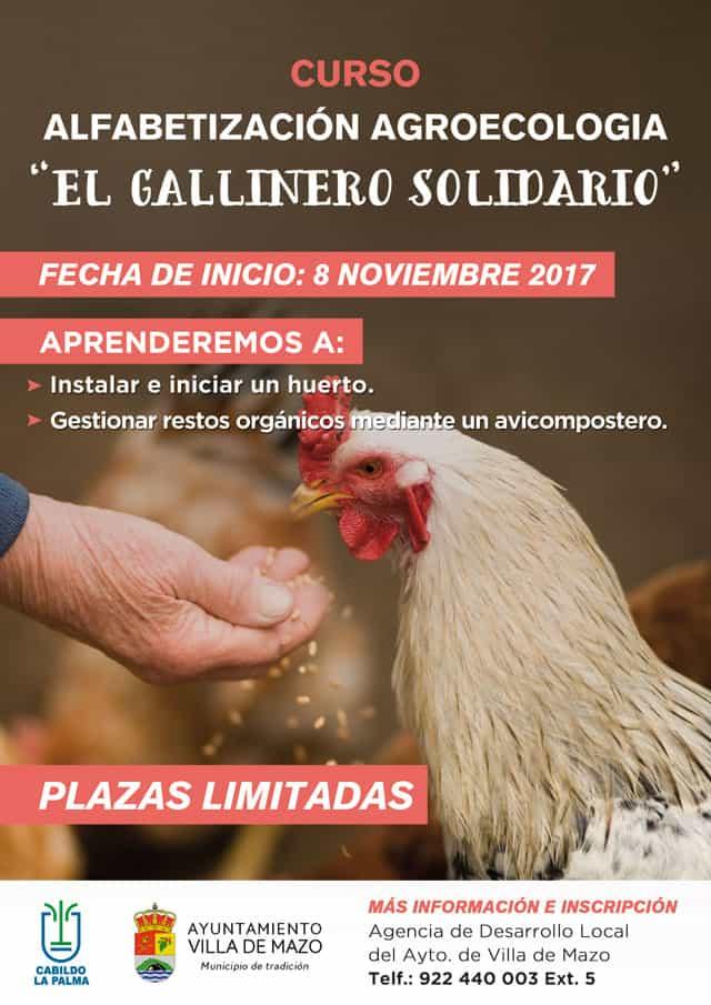 """Comienza el Curso de Alfabetización en Agroecología """"El Gallinero Solidario"""""""