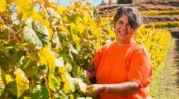 """Eufrosina Pérez """"En los mejores momentos de la vida siempre hay una botella de vino"""""""