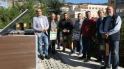 El Cabildo inaugura en Santa Cruz de La Palma punto de compostaje comunitario