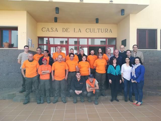 Programa de Inserción de Jardinería y Actividades Complementaria en Puntallana
