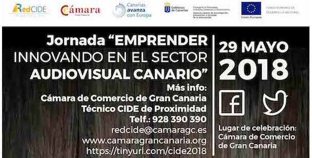Emprender innovando en el sector audiovisual de Canarias