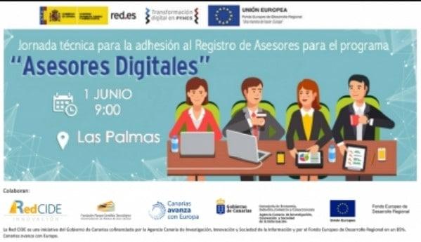 Jornada técnica para la adhesión al Registro de Asesores para el Programa «Asesores Digitales»
