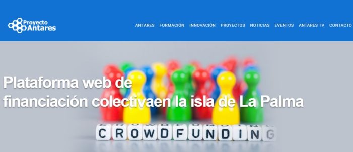 """Abierta la convocatoria de presentación de proyectos innovadores a campaña """"Crowdfunding"""""""