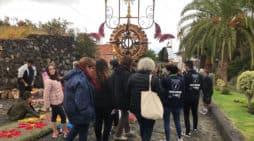 El Punto de Información del Corpus Christi en Villa de Mazo atiende a 338 personas