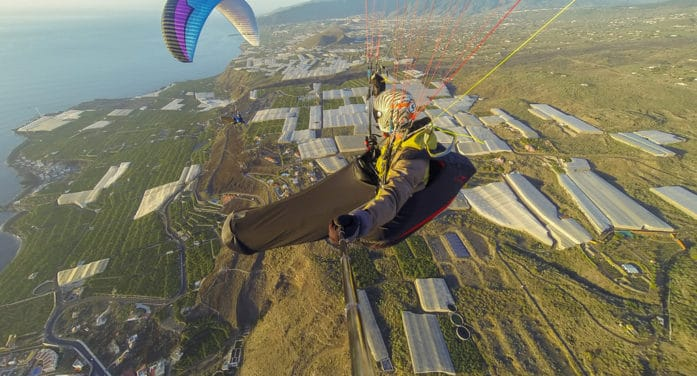 La Palma vuela alto con Roger