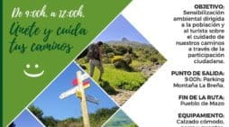 Villa de Mazo organiza una jornada de sensibilización sobre el cuidado de los caminos