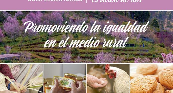 El Cabildo informa de las ventajas de la titularidad compartida en explotaciones agrarias para celebrar el Día de las Mujeres Rurales