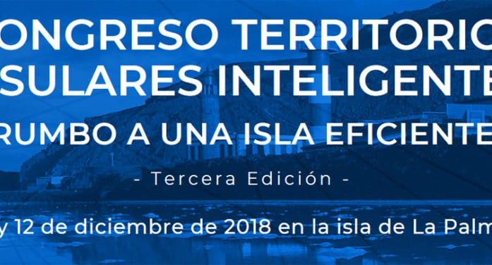 ADER La Palma colabora con el III Congreso de Territorios Insulares Inteligentes