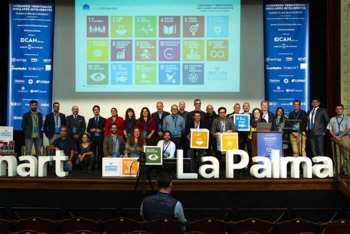 La Palma comparte su experiencia en eficiencia energética, gestión de residuos e información meteorológica en el 'III Congreso de Territorios Insulares Inteligentes'