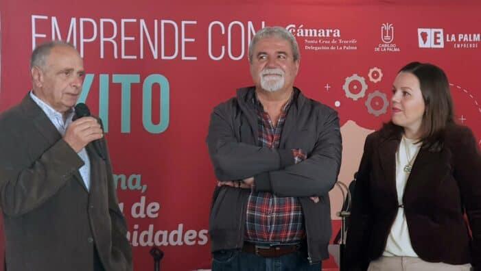 Cámara y Cabildo promocionan La Palma como una Isla de Oportunidades al servicio de la emprendeduria y la inversión