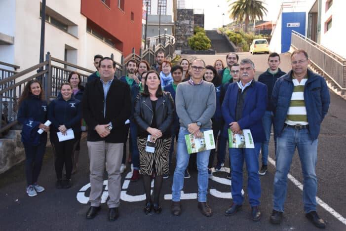 """12 Jóvenes se forman en Promoción Turística en el PFAE de Garantía Juvenil «Villa de Mazo, Cultura en Vivo"""""""