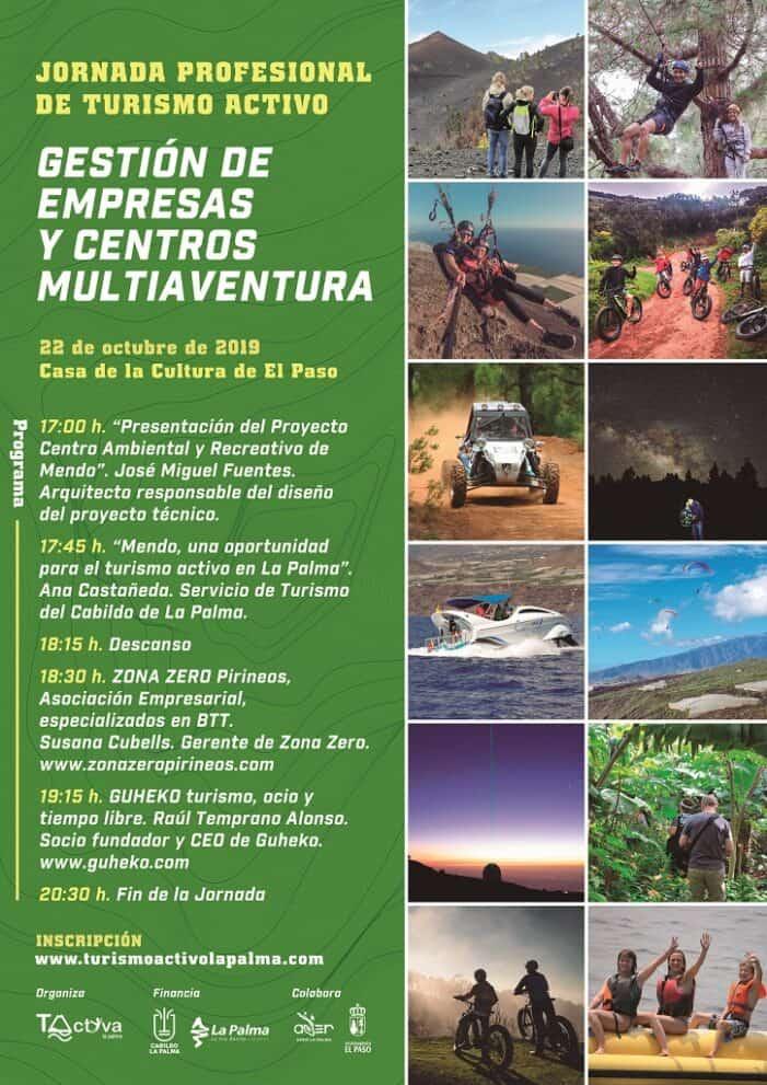 """La Asociación de Turismo Activo """"T-Activa"""" organiza una Jornada sobre Gestión de Empresas y Centros Multiaventura"""