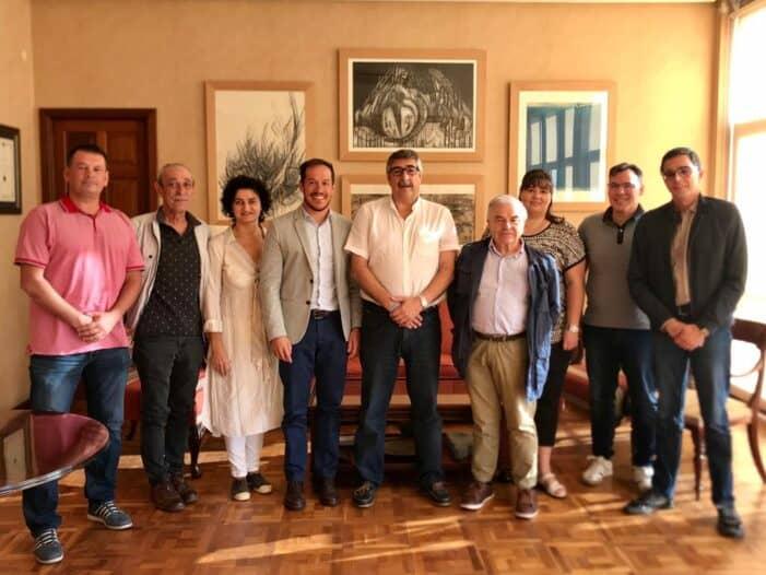 El GALP Golfo Ártabro Sur viaja hasta La Palma para realizar una visita de Estudio