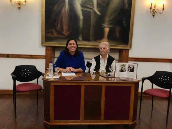 La escritora alemana Rose Marie ha presentado su nuevo libro '80 Setas comestibles en La Palma'