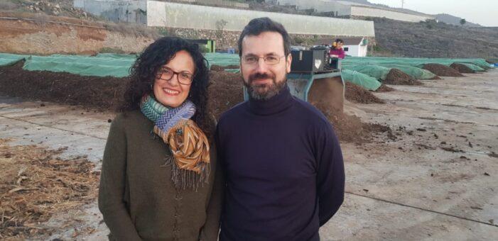 El Cabildo conocerá de primera mano el modelo de gestión de biorresiduos de Pontevedra para seguir impulsando 'La Palma Orgánica'
